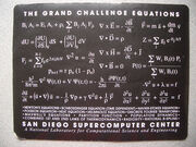 The Grand Challenge Equations- San Diego Supercomputer Center