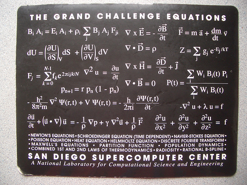 File:The Grand Challenge Equations- San Diego Supercomputer Center.jpg