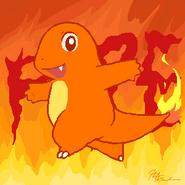 Mascot of Fire