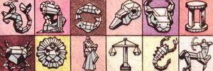 Zodiac Crystals