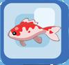 Fish Pink Koi
