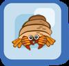 Fish Halloween Hermit Crab