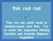 Rod Thin Red Rod 2