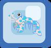 Fish Blue Harlequin Shrimp