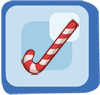 Rod Giant Candy Cane
