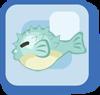 Fish Blue Puffer
