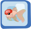 Fish Red Cap Pink Oranda