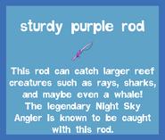 Rod Sturdy Purple Rod 2