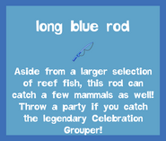 Rod Long Blue Rod 2