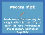 Rod2 Wooden Stick