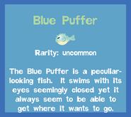 Fish2 Blue Puffer