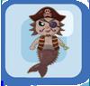 Fish Pirate Merman