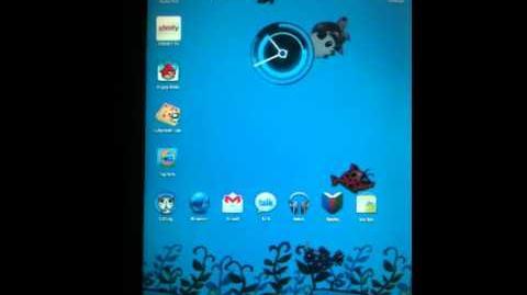 Aqua Pets Live Wallpaper Example