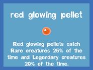 Bait2 Red Glowing Pellet