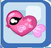Fish Pink Heart Fish