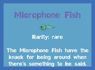 Fish2 Microphone Fish