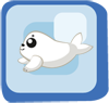 Fish Baby Harp Seal