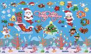 BG2 White Wonderland Christmas Theme