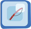 Rod Thin Red Rod