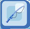 Rod Long Blue Rod