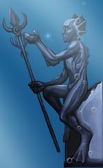 Mithalan statue