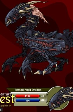 Female Void Dragon