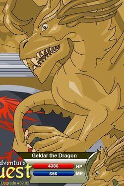 Geldar the Dragon