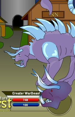 Greater WarBeast