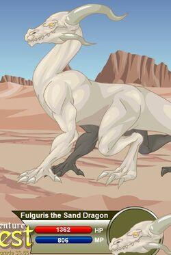 Fulguris the Sand Dragon