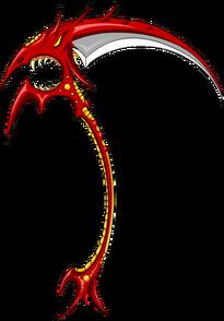 Red Ebil Scythe