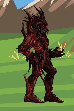 Affliction Knight