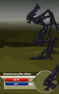 Shadowscythe Alien