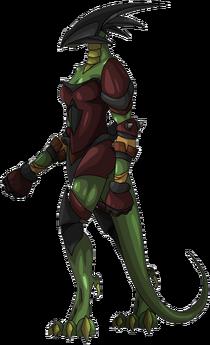 Drakel Swordmistress