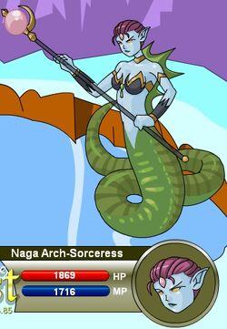 Naga Arch-Sorceress