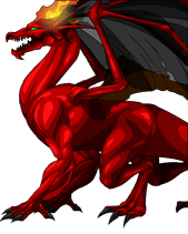 Young Fire Dragon