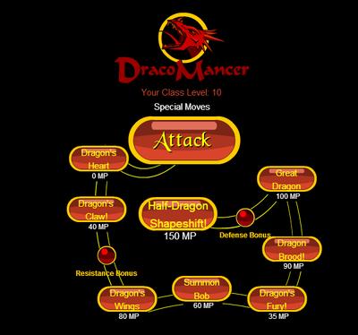 Dracomancer Skillset