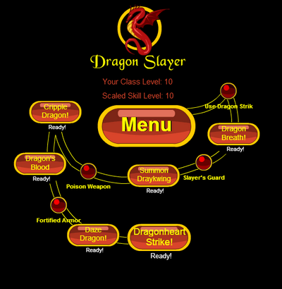 DragonSlayer N Skillset