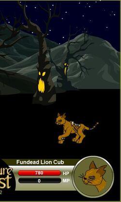 Fundead Lion Cub