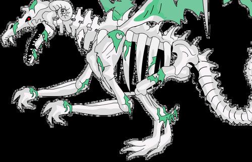 Ziragat, the Undead Dragon