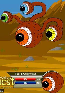 Four Eyed Menace