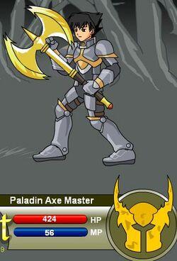 Paladin Axe Master