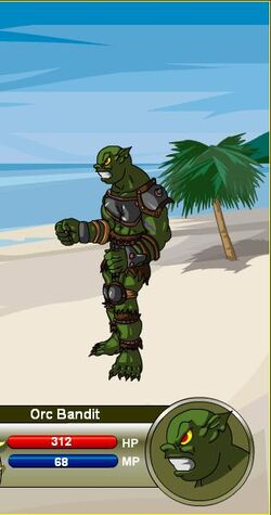 Orc Bandit