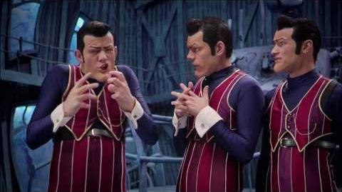 We Are Number One but every Number One is replaced with a misuse of @everyone