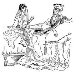 Scheherezade and sultan