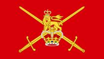 Uk british army flag