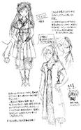 Emisu & Kannagi Sketch Concept