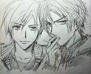 Hinohara and Kadowaki in 20 years old