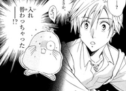 Arata in Teko's body
