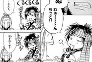 Arata fakes Tsukuyo's power