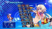 Character Select AH3LMSS